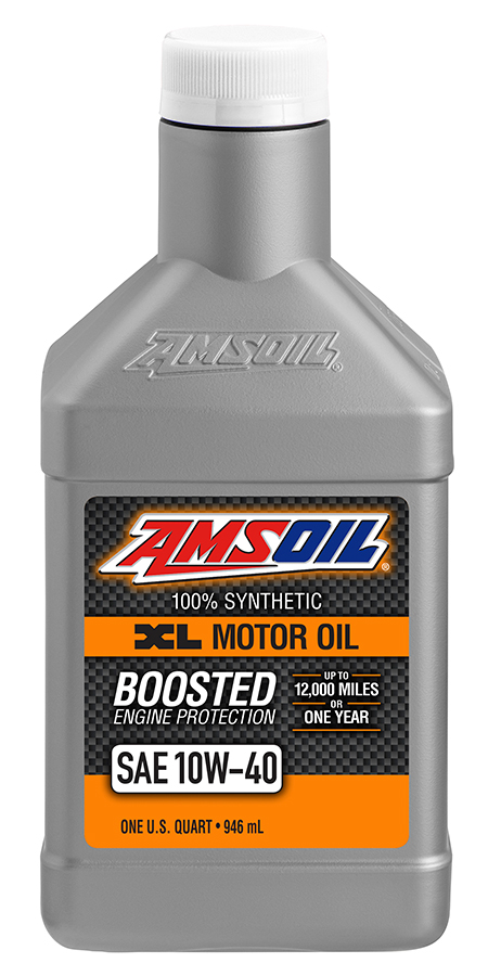 AMSOIL 10W-40 Synthetic Motor Oil (XLO)